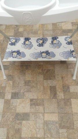 Banheira completa + kit 5 saquinhos de maternidade  - Foto 3