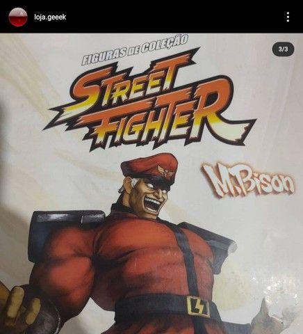 Miniatura Street fighter M.Bison + fascículo - Foto 2