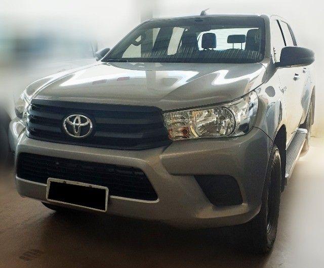 Toyota Hilux 2019 4x4 Diesel, Prata Liberada