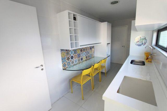 Apartamento jaqueira 3 quartos 2 suites 130m2 com 2 vagas, Recife-PE - Foto 7