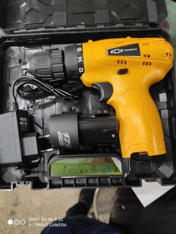 Parafusadeira a bateria Chevrolet 12v - Foto 5