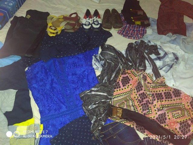 Vendo todas essas roupas sendo q  tem novo e usado