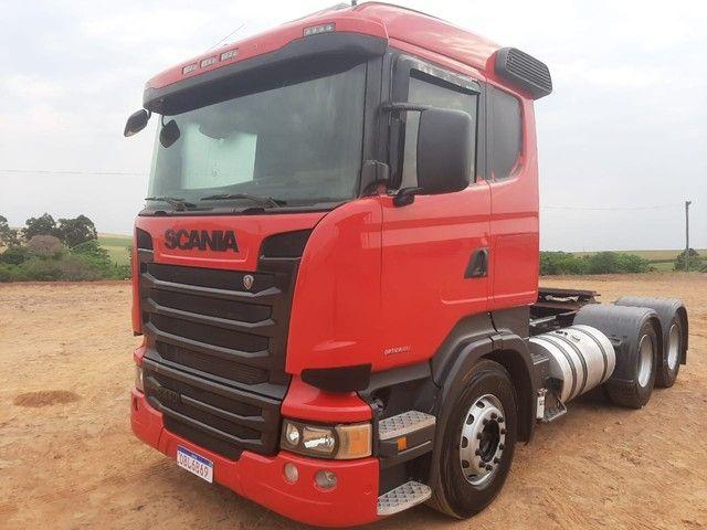 Scania R-440 6x4 2014 Único dono - Foto 2