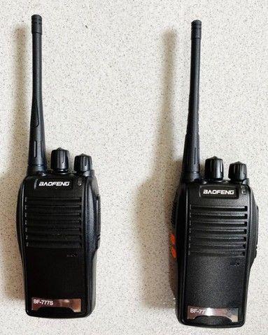 Rádio Comunicador Walk Talk Baofeng 777s Kit 1 Par - Foto 2