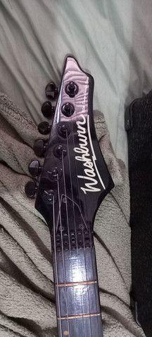 Kit guitarra usado em bom estado.(Está  tudo na descrição oque você precisa saber). - Foto 4