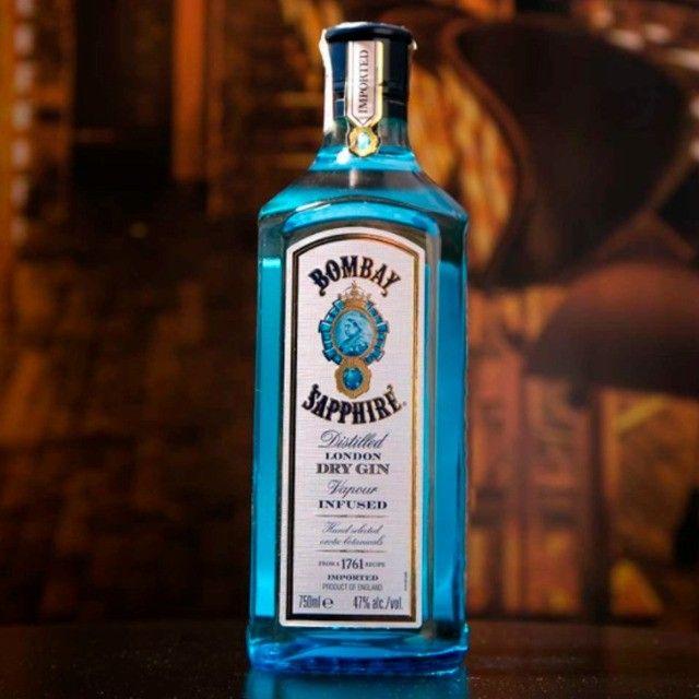 Gin Bombay Saphire 750ml + 5 Água Tônica + 5 Sachês - Foto 6