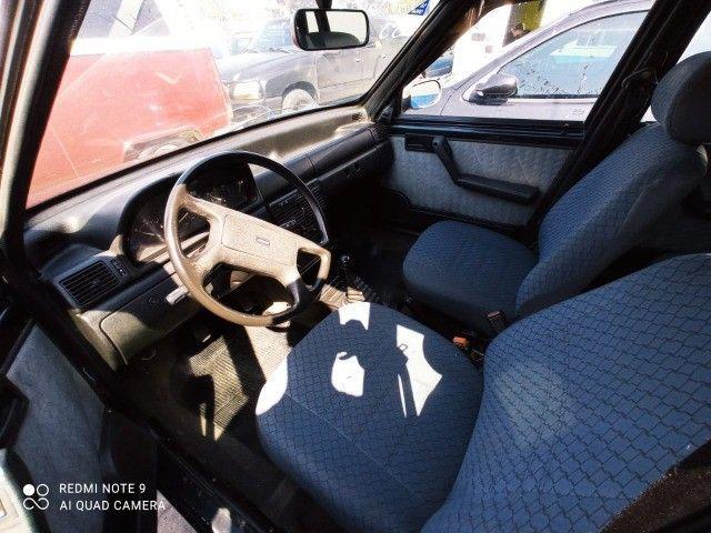 Fiat Uno Mille 4p 1.0 EP 1996 Azul (S/ Entrada R$: 399,90) Top Car Aprova Fácil - Foto 7