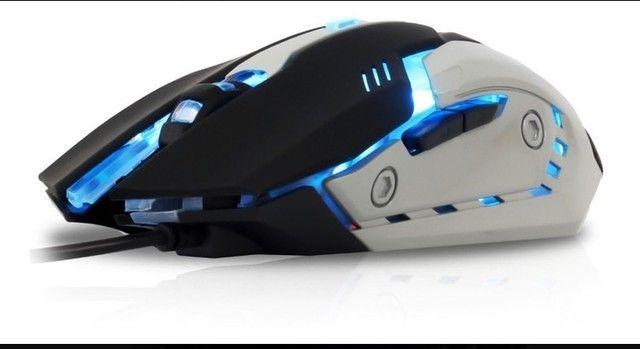 Teclado e mouse Gamer Knup KP-2054 - Foto 2