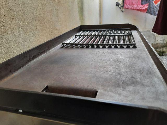 Chapa char broiler pró gás  - Foto 4