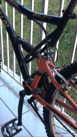 Bicicleta Caloi XRT (ótimo estado) - Foto 6