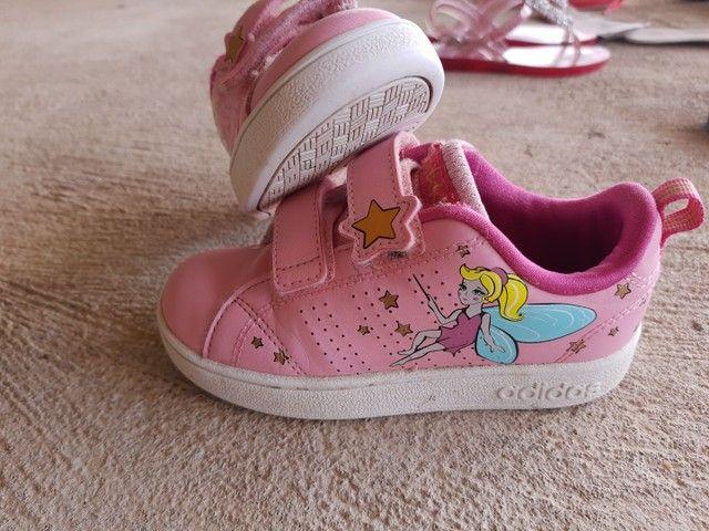 Tênis Adidas infantil n°27 - Foto 2