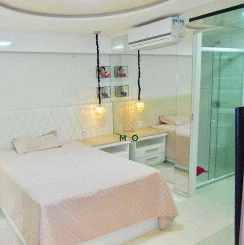 Apartamento com 3 dormitórios à venda, 115 m² por R$ 1.200.000,00 - Porto das Dunas - Aqui - Foto 8