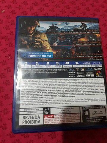 Call of Duty Black ops 3 PS4 novíssimo!! - Foto 3
