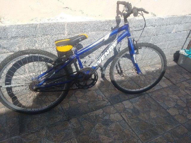 Bicicleta wendy aro 26 pouco uso - Foto 4