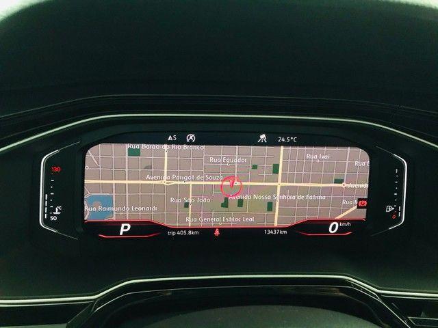 Polo GTS 1.4 TSI 2020 14.500 km único dono  - Foto 13