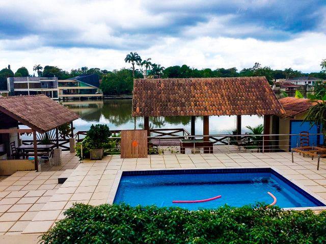 Casa Cond. Lago Azul - Beira do lago - Foto 18