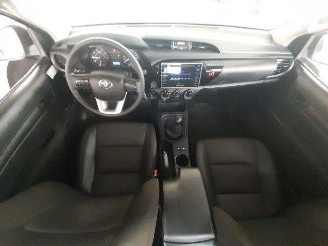 Toyota Hilux 2019 4x4 Diesel, Prata Liberada - Foto 5