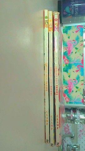Mangás Sakura card captors semi novos - Foto 2