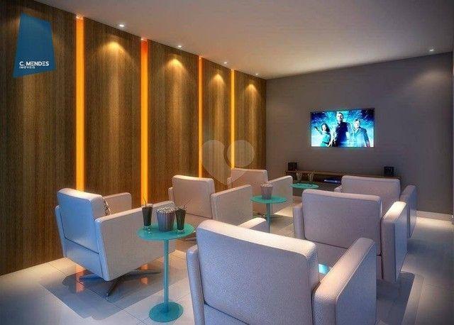 Apartamento com 2 dormitórios à venda, 56 m² por R$ 374.749,10 - Benfica - Fortaleza/CE - Foto 6