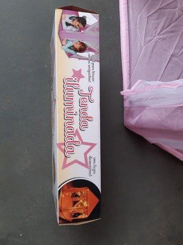 Tenda iluminada com luzes decorativas-  marca- dm/ toys. - Foto 6
