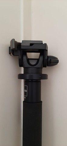 Monopé Gitzo Gm 3551 Fibra De Carbono Com Cabeça Manfrotto - Foto 5