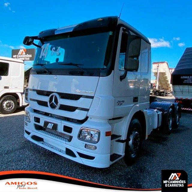 Cavalo Mecânico Mercedes-benz Actros 2646 6x4 2014 - Foto 2