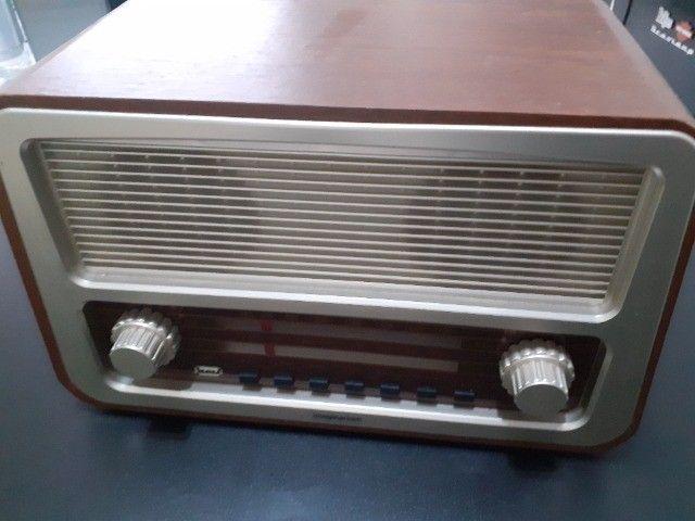 Rádio estilo antigo da Imaginarium - Foto 2