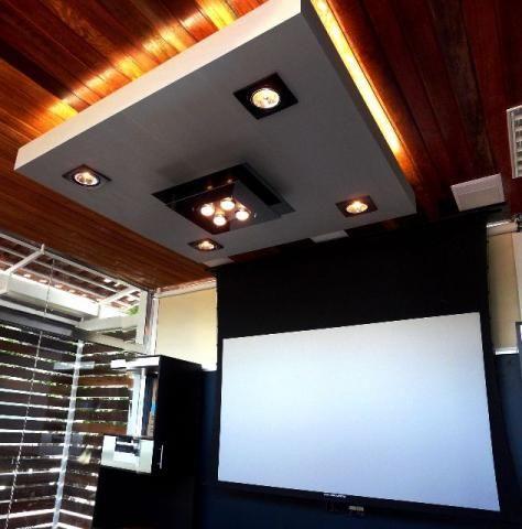 Sistemas de Home Theater - Projetor - Receiver - Tela motorizada - Subwoofer - Lift