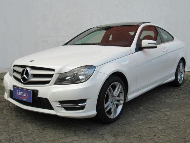 MERCEDES BENZ C 180 2013/2014 1.6 CGI COUPE 16V TURBO GASOLINA 2P AUTOMÁTICO