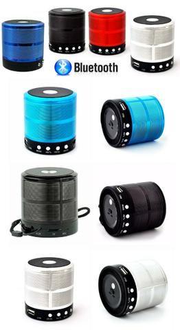 Caixa De Som Bluetooth Mp3 Fm Caixinha Wireless Usb Pendrive - Foto 2