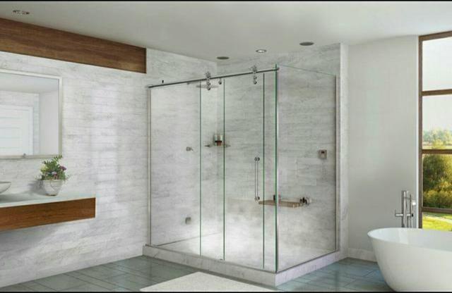 Box, Espelhos, Grades, Portões e Esquadrias de Alumínio e Vidro Temperado - Foto 2