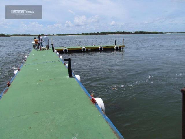 Terreno top no Laguna, frente com vista para a  lagoa - Foto 11