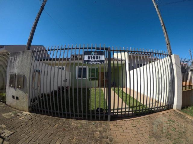 Casa com 2 dormitórios à venda, 60 m² por r$ 250.000 - novo milênio - cascavel/pr