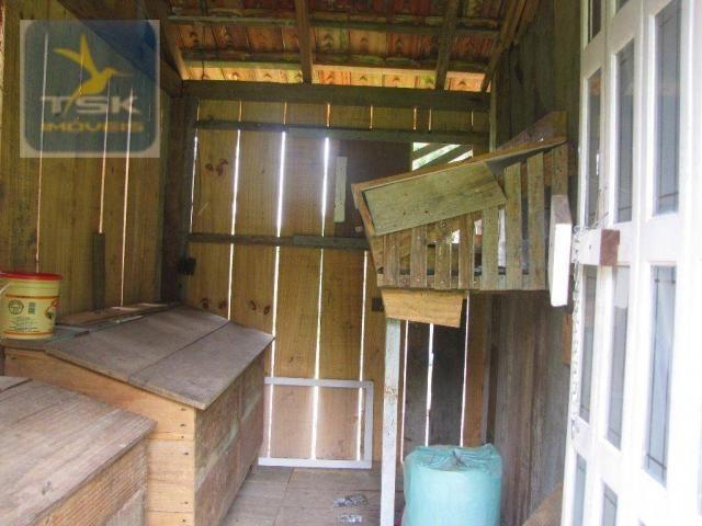 Ch0223 - chácara com 2 dormitórios à venda, 10935 m² por r$ 337.000 - zona rural - agudos  - Foto 16