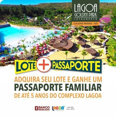 Loteamento Lagoa Golden Park - Caldas Novas GO. R$316 por mês - Foto 6