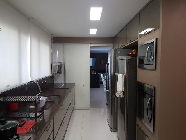 Apartamento Lumno 4 Suítes 276m2 Alto 4 vagas Decorado Nascente linda vista mar - Foto 10