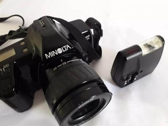 Câmera Analógica Minolta Dynax 3000i Usada - Foto 3