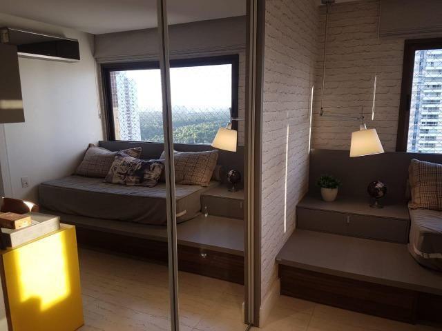 Apartamento Lumno 4 Suítes 276m2 Alto 4 vagas Decorado Nascente linda vista mar - Foto 7