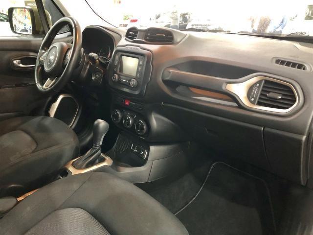 RENEGADE 2016/2016 1.8 16V FLEX LONGITUDE 4P AUTOMÁTICO - Foto 8