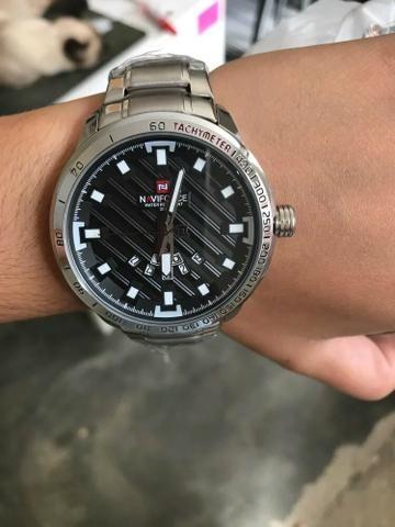 9532de944c0 Relógio NAVIFORCE ORIGINAL IMPORTADO COM ESTOJO MUITO BONITO ...