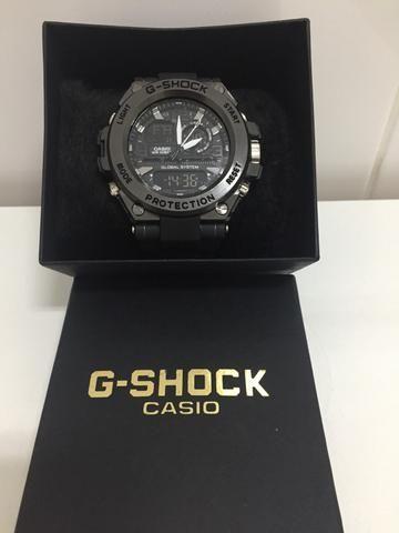 289d91fe732 Relógio Casio G-Shock WR10bar Preto - Bijouterias