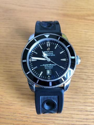 6a768e47c3b Relógio Breitling SuperOcean Heritage 46 ORIGINAL - Bijouterias ...