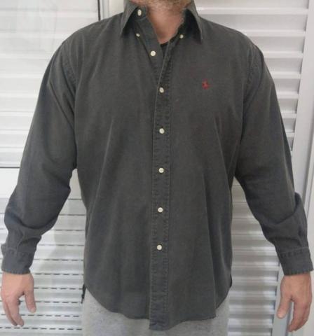 8e88a037b9 Camisa polo ralph lauren original - importada - m - Roupas e ...