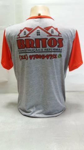 Camiseta personalizada ou uniforme - Roupas e calçados - Dic I ... 5799d27b6b8a3