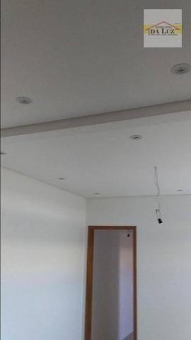 Apartamento com 3 dormitórios à venda, 90 m² por r$ 420.000 - parque das nações - santo an - Foto 11
