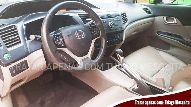Honda Civic 2015/2016 LXR 2.0 em estado de novo, pneus bons - Foto 6