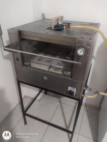 Vendo forno de pizzas e pães  promac 500 graus com infravermelho - Foto 6