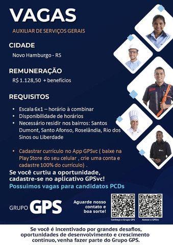 Vaga de Auxiliar de Serviços Gerais - Porto Alegre