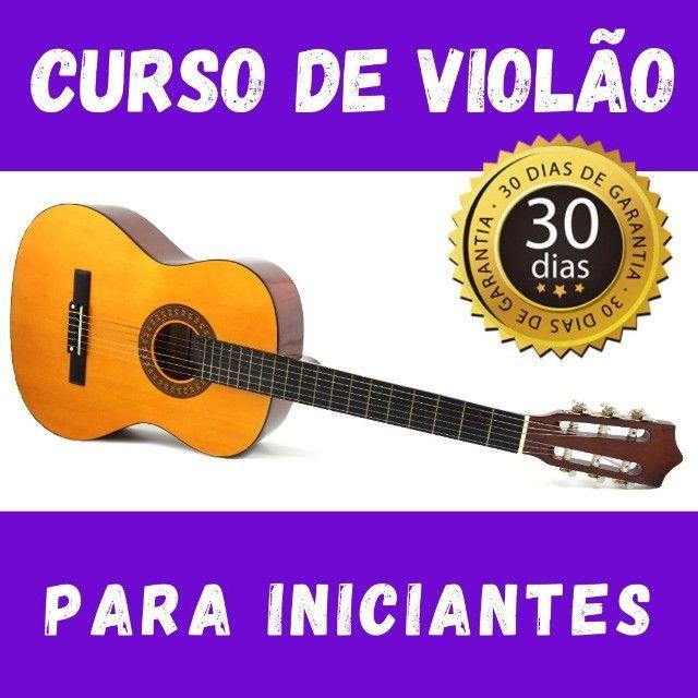 Aula de violão para iniciante - Assista a qualquer hora!