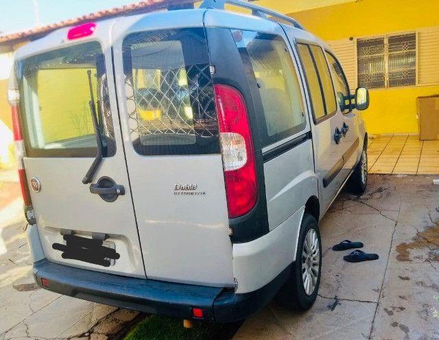 Lindo Fiat Doblo Attractive 1.4 Flex 14/15 Prata - Foto 3